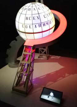 Дипломные проекты студентов образовательной программы «Компьютерные технологии в дизайне» факультета ПИиКТ на выставке «Электрификация. 100 лет плану ГОЭЛРО» в Музее Москвы